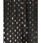 Freebird Stine Foil Midikleid mit goldfarbenen schwarzen Details
