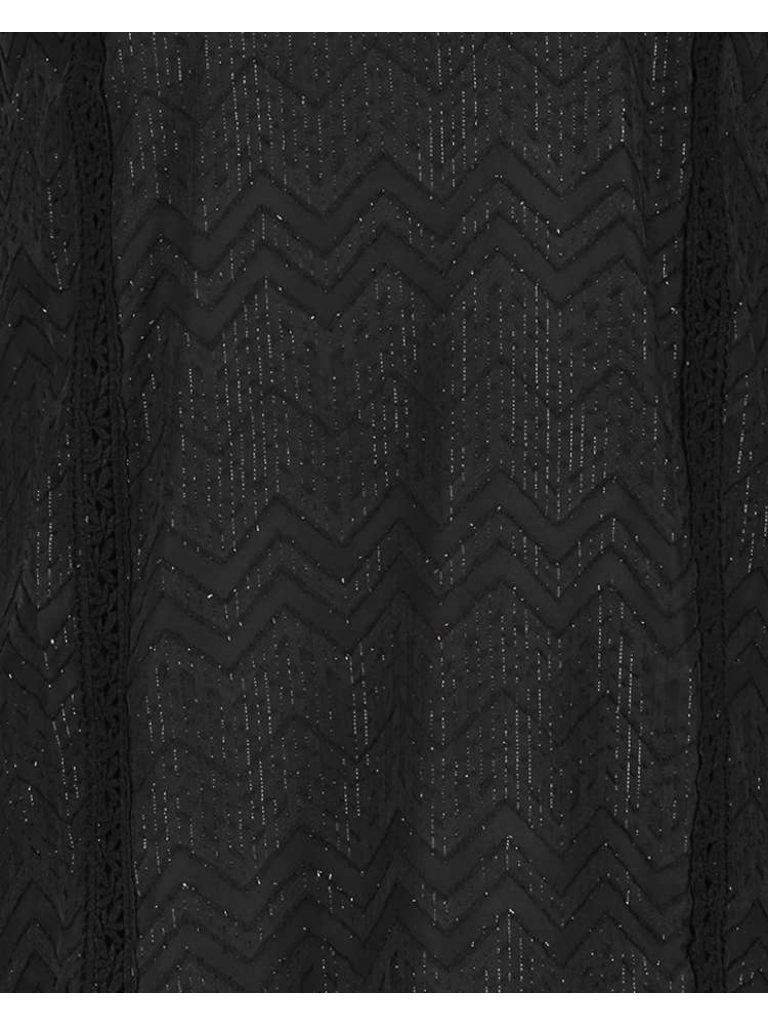 Freebird Freebird Dena Kleid mit schwarzen Details