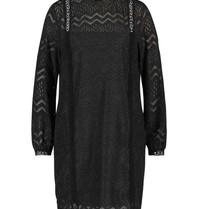 Freebird Freebird Dena jurk met details zwart