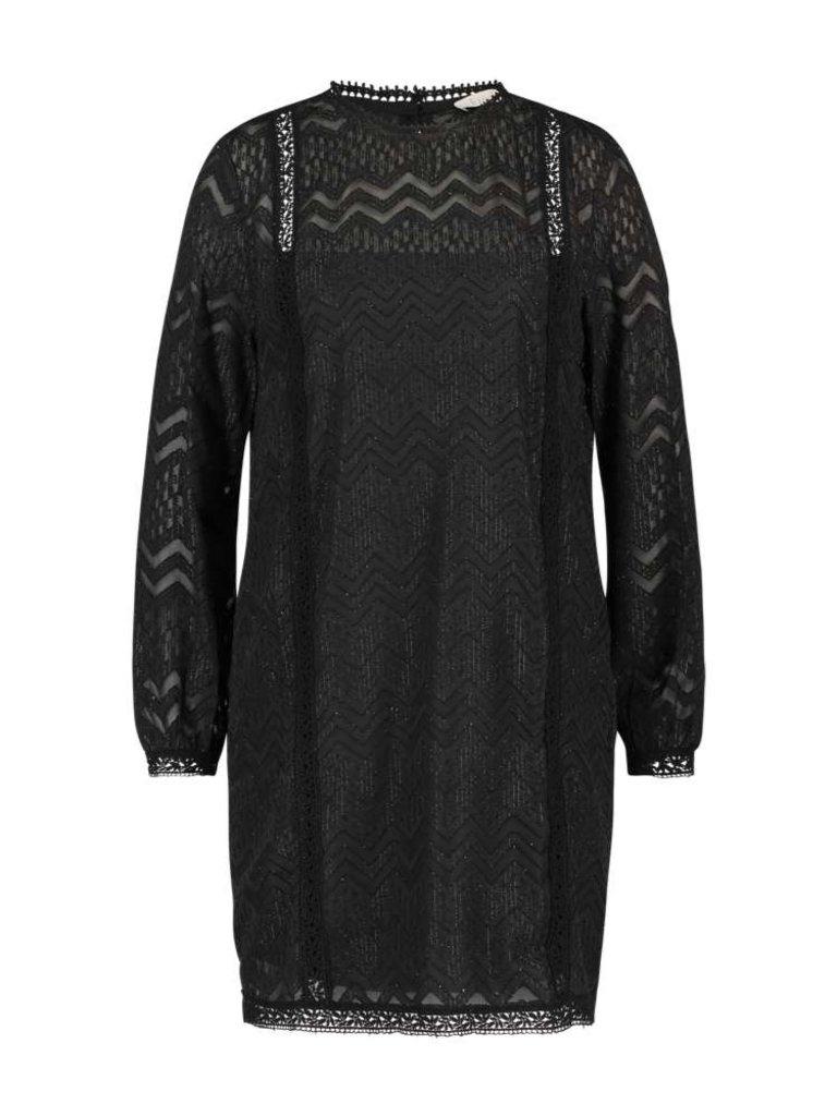 Freebird Dena Kleid mit schwarzen Details