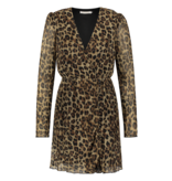 Freebird Evia Leopard dress with multicolor print