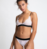 Chptr-S Chptr-S Sophisticated James Bralette weiß schwarz