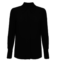 Elisabetta Franchi Elisabetta Franchi klassieke blouse zwart