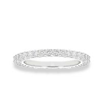 La Sisters LA Sisters Mini Eternity Ring zilver