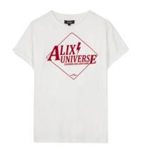 Alix The Label Alix Das Label Alix Universum T-Shirt weiß