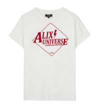 Alix The Label Alix The Label Alix universe T-shirt white