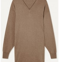 LOULOU STUDIO LOULOU STUDIO Gambier oversized cashmere dress safari