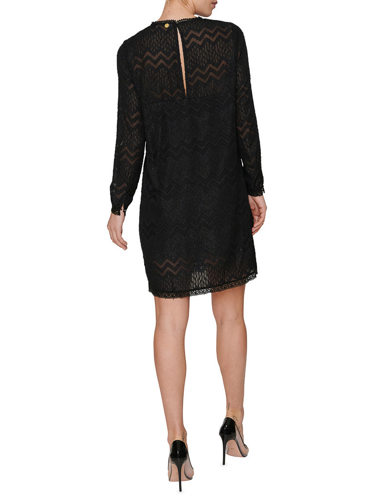 Freebird Freebird Dena dress with black details