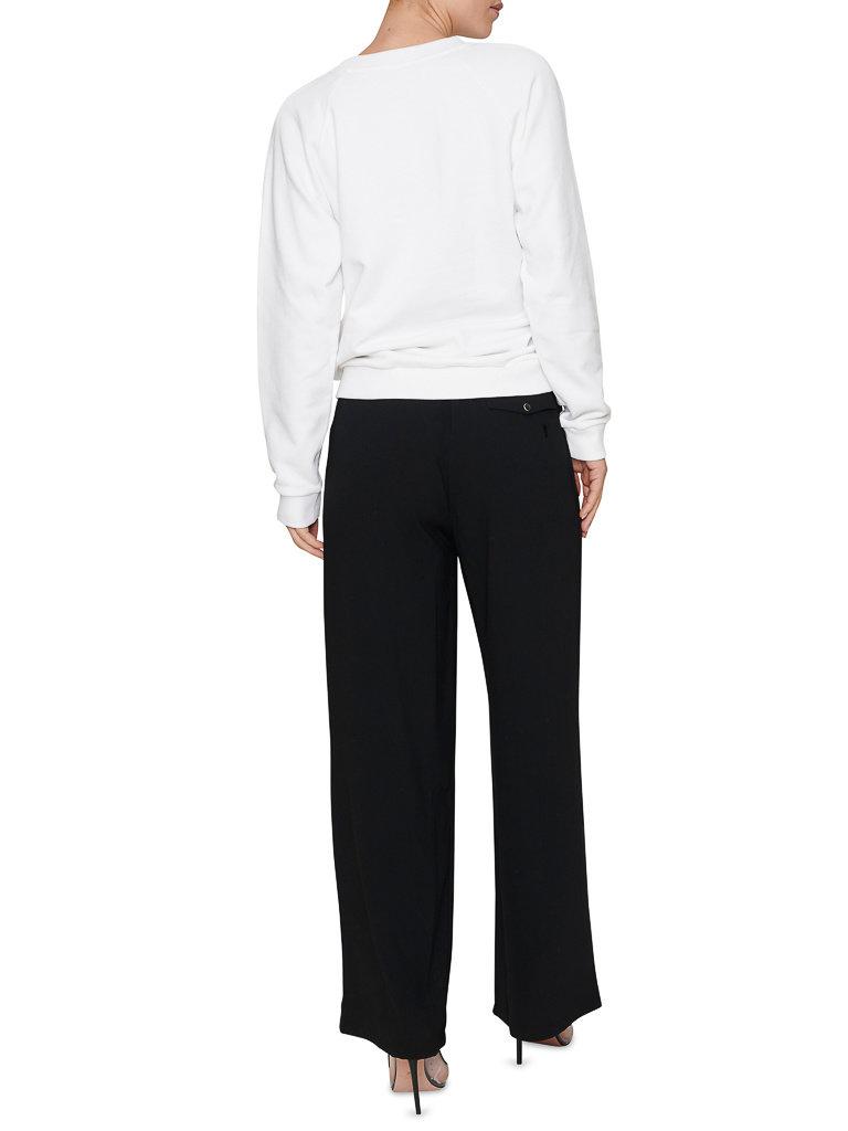 Balmain Balmain Sweater with logo print white