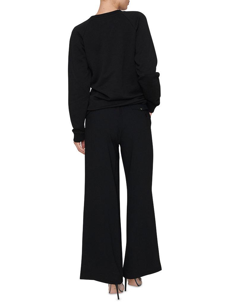 Balmain Balmain Sweater met logoprint zwart