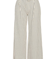 Erika Cavallini Erika Cavallini striped pants with wide legs white blue