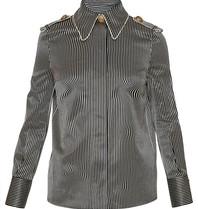 Elisabetta Franchi Elisabetta Franchi blouse with stripes print black and white