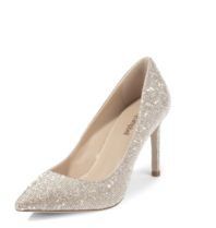 Jeffrey Campbell Jeffrey Campbell Pelara pumps with strass nude