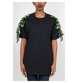 Ragyard Peacock sleeve T-shirt black