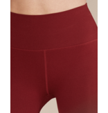 Lune Active Lune Active Luna rib leggings lava red