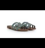 Sam Edelman Bay croco slipper blauw