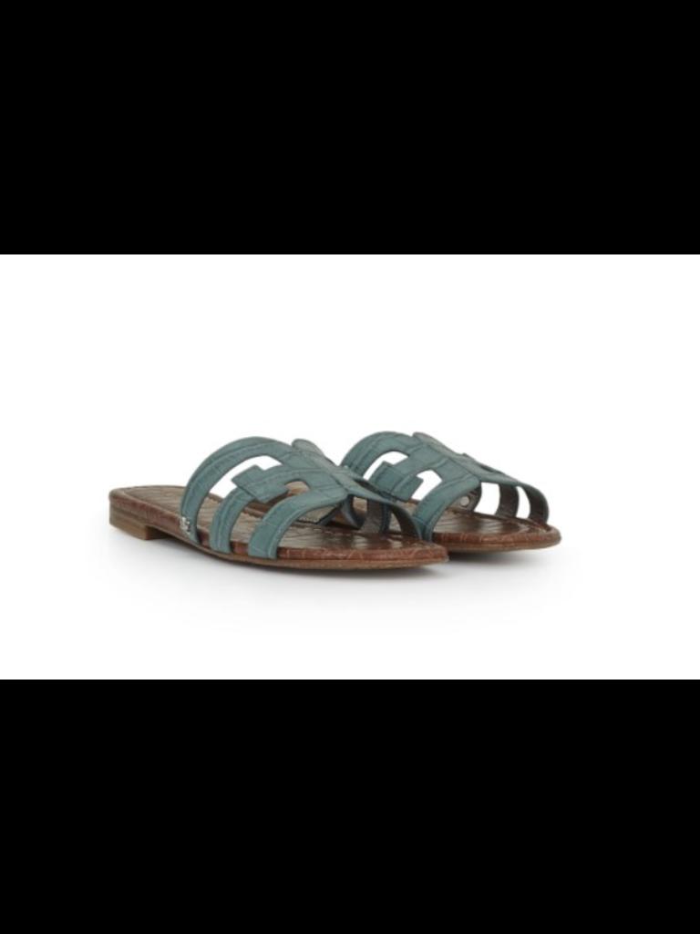 Sam Edelman Sam Edelman Bay croco slipper blue