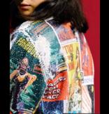 Ragyard Ragyard bomber jacket with sequin multicolor
