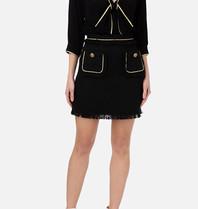 Elisabetta Franchi Elisabetta Franchi tweedelige jurk met details zwart