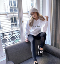 FALLON Amsterdam Die For Dior sweater wit