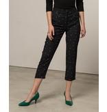 Silvian Heach Silvian Heach Beres pantalon met stippen zwart