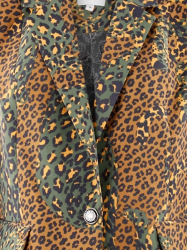 Silvian Heach Silvian Heach Zuari blazer luipaardprint multicolor