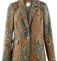 Silvian Heach Silvian Heach Zuari blazer leopard print multicolor