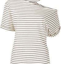 Erika Cavallini Erika Cavallini striped top blue white