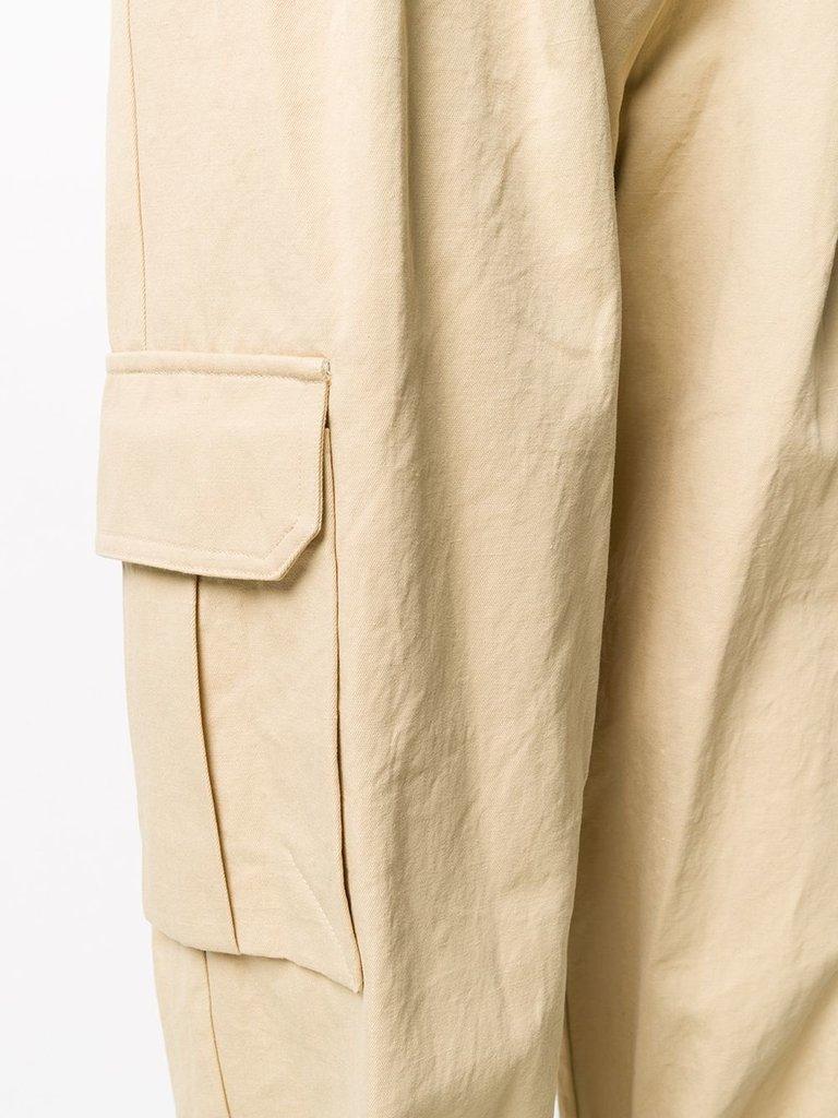 Erika Cavallini Erika Cavallini Cargo pants beige