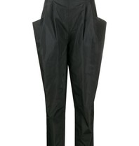 Philosophy Di Lorenzo Serafini Philosophie Di Lorenzo Serafini hoch taillierte Hose mit schwarzen Taschen