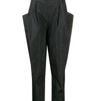 Philosophy Di Lorenzo Serafini Philosophy Di Lorenzo Serafini high waisted broek met zakken zwart