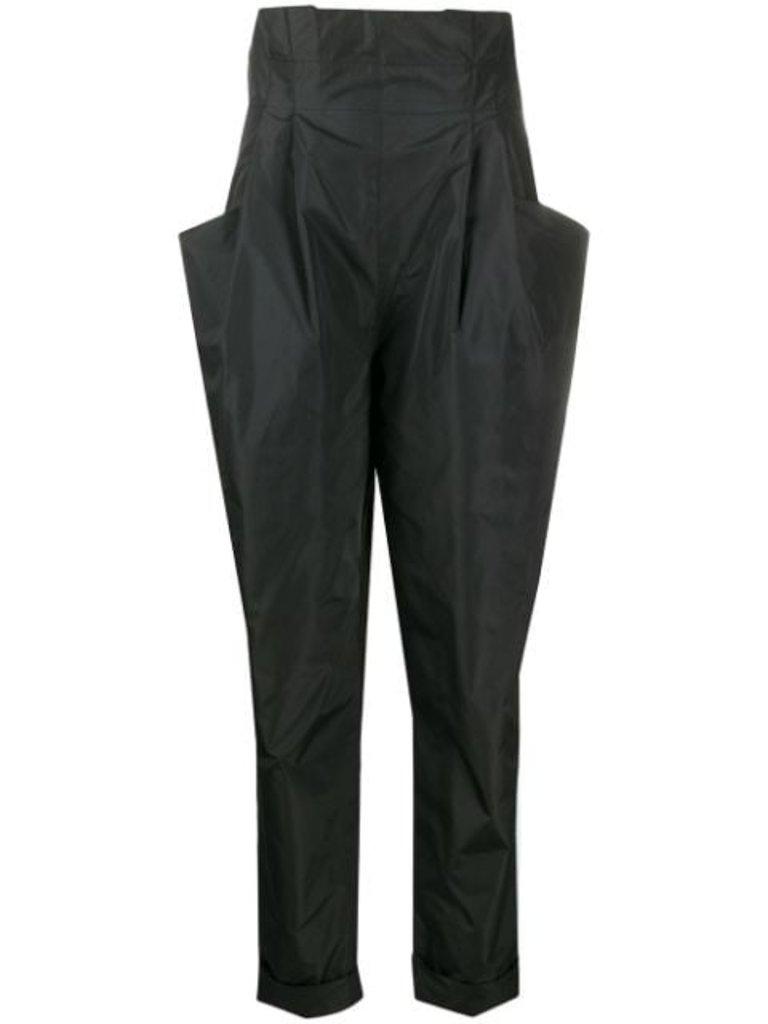 Philosophy Di Lorenzo Serafini Philosophy Di Lorenzo Serafini high waisted pants with black pockets