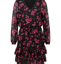 Freebird Freebird Georgia dress with floral print pink black