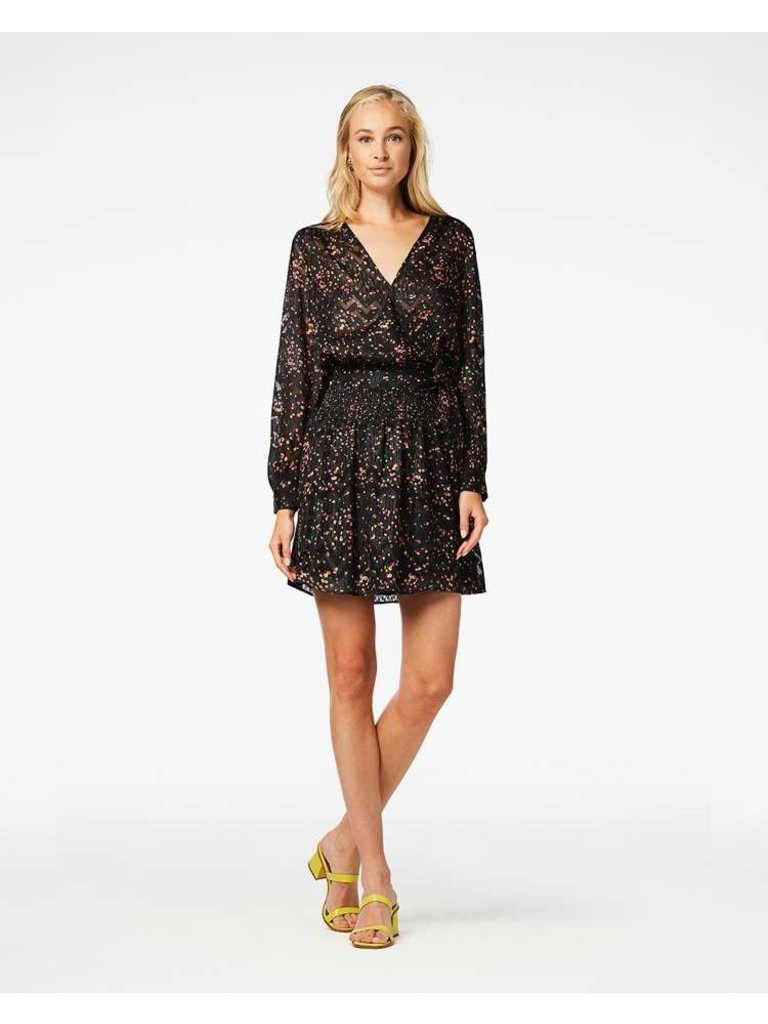 Freebird Freebird April blouse with floral print black