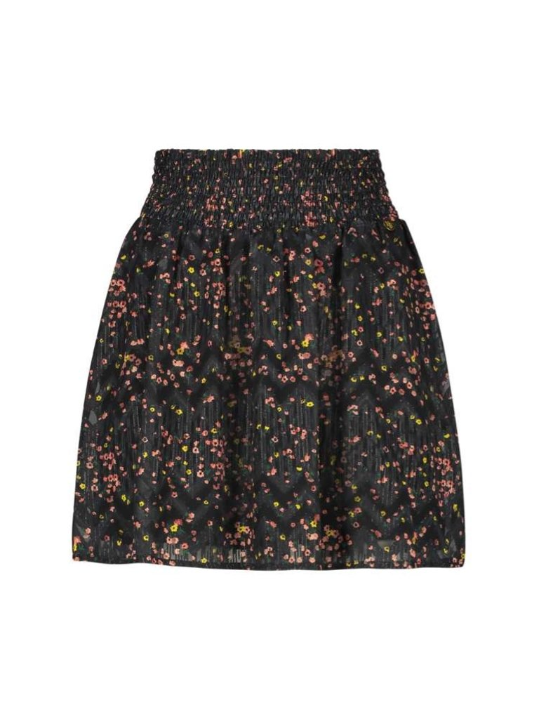 Freebird Freebird Fee skirt with floral print black