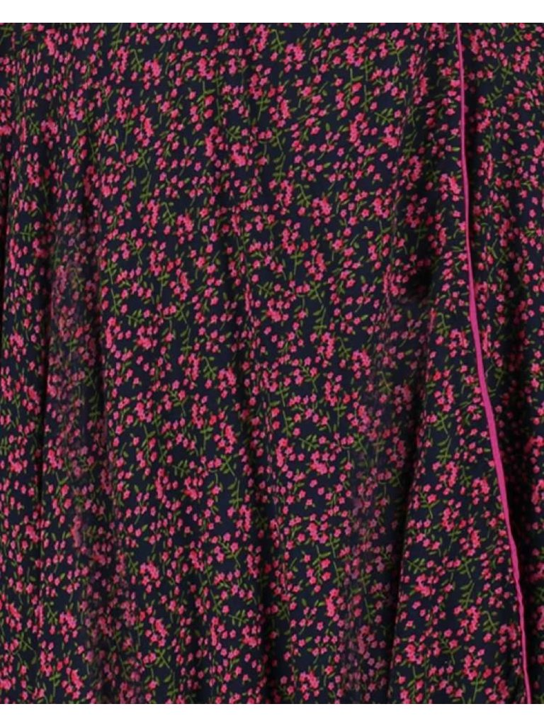 Freebird Freebird Belia Maxikleid mit Blumendruck pink