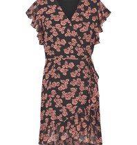 Freebird Freebird Rosy dress with floral print pink black