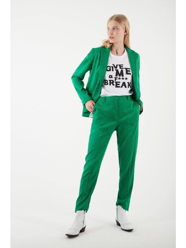 Valentine Gauthier Valentine Gauthier Rob Jan pantalon met print groen