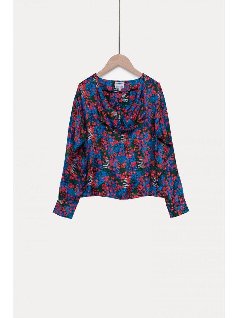 Valentine Gauthier Valentine Gauthier Suzie blouse met bloemenprint multicolor