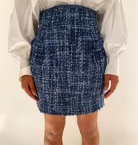 Philosophy Di Lorenzo Serafini Philosophy Di Lorenzo Serafini blue skirt