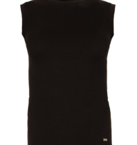 Lune Active Luna Active Bamboo rib tank top black