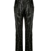 Philosophy Di Lorenzo Serafini Philosophy Di Lorenzo Serafini pantalon met strass steentjes zwart