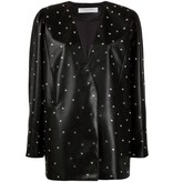 Philosophy Di Lorenzo Serafini Philosophy Di Lorenzo Serafini denim oversized blazer with rhinestones black