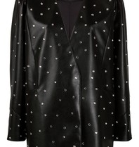 Philosophy Di Lorenzo Serafini Philosophy Di Lorenzo Serafini oversized blazer met strass steentjes zwart
