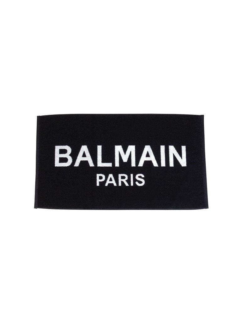 Balmain Hair Couture Balmain Hair Couture Spa towel black