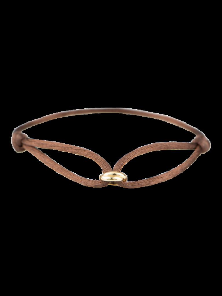 Goldbandits GoldBandits cord bracelet What comes around gold