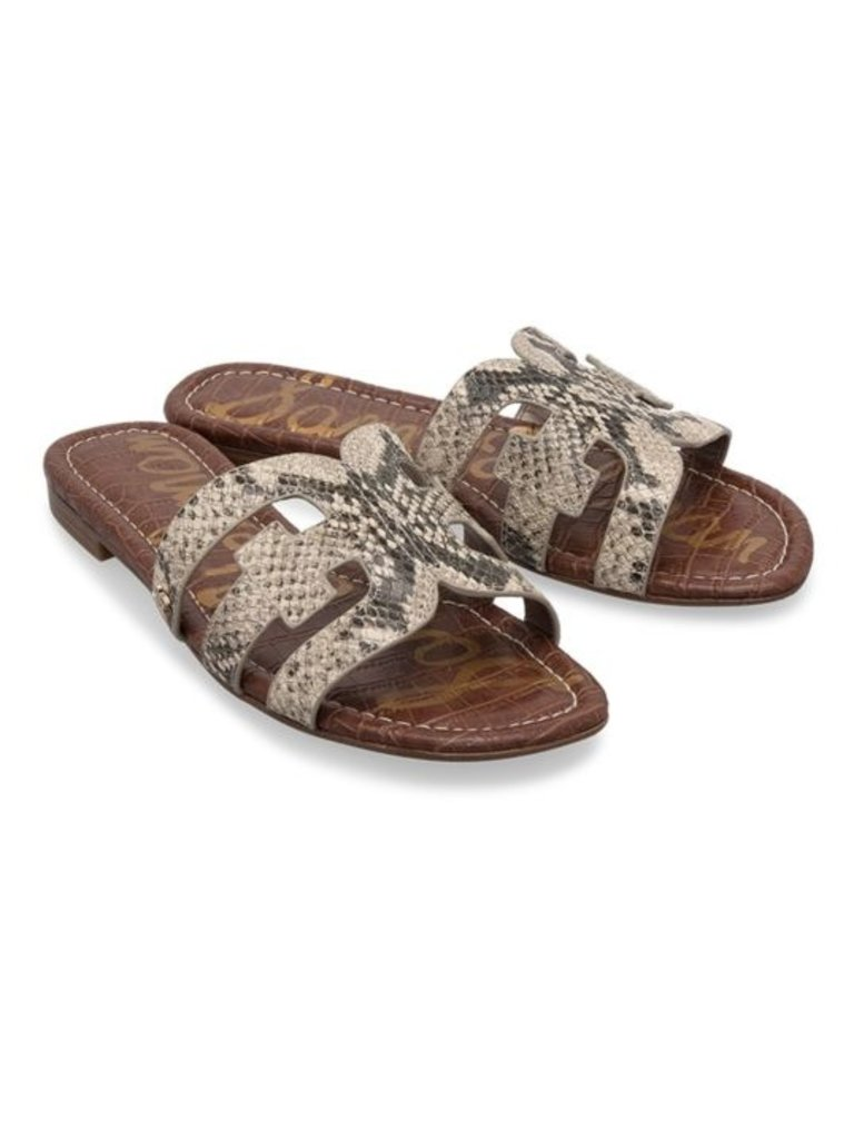 Sam Edelman Sam Edelman Bay Slide Sandal with snake print