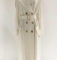 Erika Cavallini Erika Cavallini double-breasted trench coat white