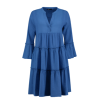 Devotion Devotion midi Ella jurk blauw