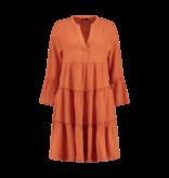 Devotion Hingabe Midi Ella Kleid orange